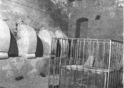 SEPOLCRETO SOTTOSTANTE LA CHIESA DI SANTA MARIA . Cripta con sedili laterali ed ossario a fossa centrale. Situata nella parte anteriore della chiesa di Santa Maria a Pisciariello, un tempo vi si accedeva, attraverso una botola ed una scala in tufo, dalle cappelle sovrastanti, oggi andate distrutte.