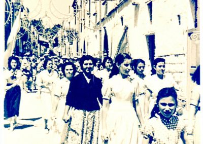 Casale- festa e processione, le donne casalesi