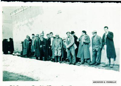 Casale- la grande nevicata del '52, che freddo_