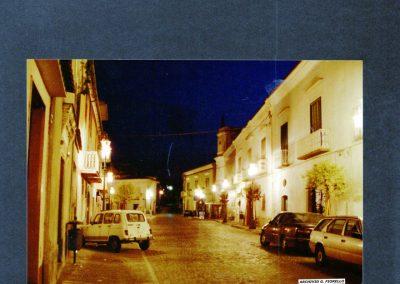 Casale- via S. Aurilio, illuminata a giorno
