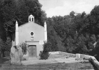 Vista della cappella di Santa Maria delle Grazie - oggi Santuario