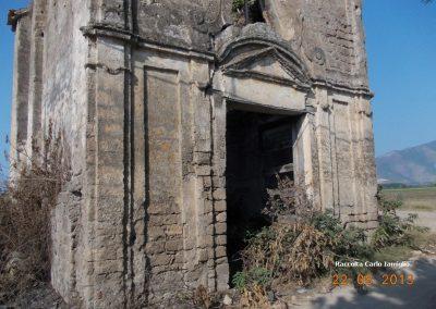 Cappella località Limata facciata inferiore (Nocelleto)