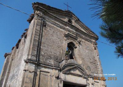 Cappella località Limata facciata superiore (Nocelleto)