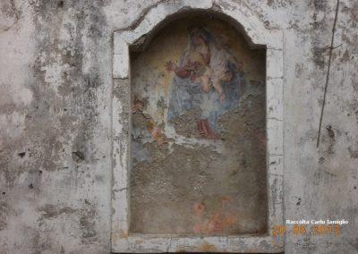 Masseria Razzino - Affresco interno Cappella Santa Fortunata
