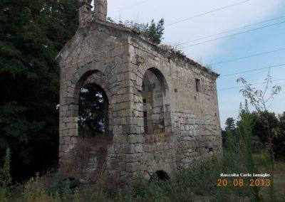 Masseria Razzino - Vista frontale Cappella Santa Fortunata
